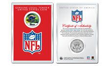 ST. LOUIS RAMS NFL Helmet JFK Half Dollar US Coin w/ NFL Display Case LICENSED