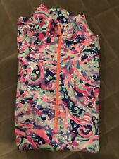 Lilly Pulitzer La Playa Weekender Jacket Pullover Luxletic Size Small