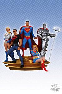 Superman Family Multi-Part Statue Complete Set DC Direct (NEW)