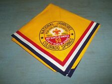 Vintage Boy Scout National Jamboree Neckerchief 1910-1960 Colorado Springs