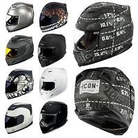 Icon Airframe Integral Sport Motorrad Helm Alle Farben Und Größen