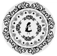Leblon Delienne Disney Alice Meraviglie Porcellana - 4 Piatti diametro 27cm