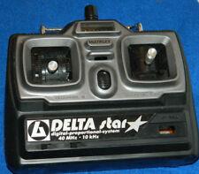 DELTA STAR MULTIPLEX Radio Control Emetteur RC R/C COMMANDE controller 40 MHz