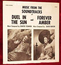 OST DUEL IN THE SUN / FOREVER AMBER TIOMKIN / RAKSIN 1974 CINEMA SEALED MINT