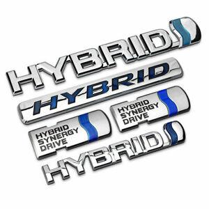 Fit Toyota Avalon Camry Hybrid Trunk Decal Emblem Badge Sticker ABS Emblem