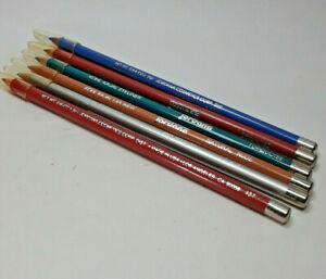 6 Piece Kohl Kajal Jordana 3 Eye Liner Pencil Matte 3 lipliner  Makeup 5 Colors