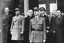 WW2 -  Paris - Le Général de Gaulle aux Invalides le 14 octobre 1944
