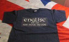 ENGLISC WE FEAR NO FEAR T SHIRT NAVY