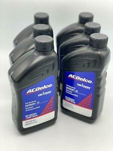 ACDelco Dexron VI Full Synthetic Automatic Transmission Fluid 6 Quarts OEM