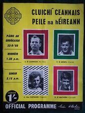 Collectable 1968 GAA All Ireland Football Final Programme Down V Kerry