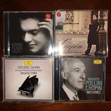 Evgeny Kissin and Maurizio Pollini, classical piano 12 CD LOT: Liszt and Chopin