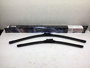 """Volkswagen Wiper Blade Set 24"""" 19"""" pair BOSCH OEM Blades jetta golf passat vw"""
