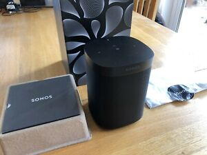 Sonos One Gen 2 Wireless Speaker - Black - Alexa Voice Control