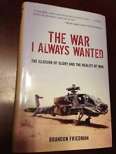 Iraq War, Afghanistan, 101st Airborne Screaming Eagles, Friedman SIGNED army
