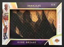 2015-16 Panini Immaculate Kobe Bryant Sneak Peek Nike Shoe Lakers 4/4