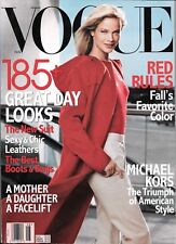VOGUE MAGAZINE August 1999   Carolyn Murphy   Michael Kors