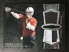 Derek Carr *Rc Dual Jersey* 2014 Bowman Sterling Rookie Football Card