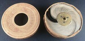 ANTIQUE KINORA REEL CIRCA 1900/1910 MAN PUNTING / IN ORIGINAL BOX / OPTICAL TOY