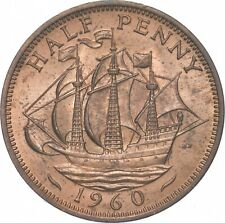 Better - 1960 Great Britain 1/2 Penny - TC *274