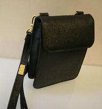 Vintage Tasche, edle Pocket Handtasche Designer Rolf Dey, schwarz, 100% Original