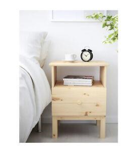 """Brand New, IKEA TARVA Nightstand, Pine 18 7/8"""" x 24 3/8"""" , 502.196.09"""