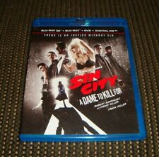 Sin City A Dame to Kill For (Blu-ray 3D + Blu-ray + Dvd) *Rare, Oop*
