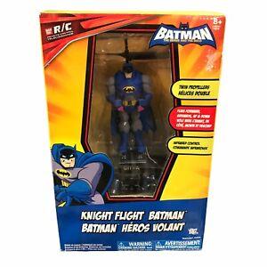 RC Radio Controlled Batman Helicopter Heli Knight Flight Bandai NEW See descr.