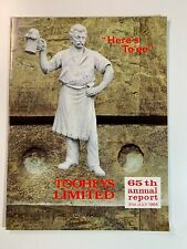 Vintage Australia Tooheys Limited 65th Annual Report 31 July 1966