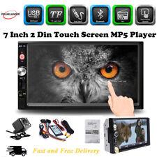 "7"" 2DIN Car Stereo Radio HD Touch FM/USB/SD Bluetooth MP5 Player In dash +Camera"