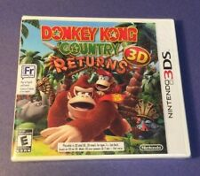 Donkey Kong Country Returns 3D [ First Print White Case ] (3DS) NEW