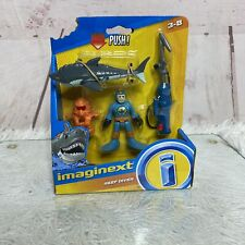 Imaginext Reef Diver With Shark & Harpoon Fisher-Price New