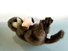 "Mary Meyer 11"" Sea Otter Holding Starfish On Back Plush Stuffed Animal Toy"