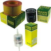MANN-FILTER PAKET Luftfilter Ölfilter Kraftstofffilter Austin Ambassador
