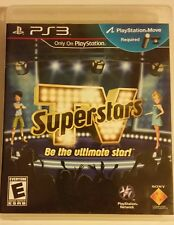 TV SUPERSTARS (Sony PS3 Move, 2010) *COMPLETE* SHIPS OUT FREE Mon-Sat!