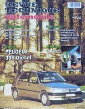 Neuf de stock PEUGEOT 306 diesel REVUE TECHNIQUE RTA 569 1995 OPEL CORSA 309
