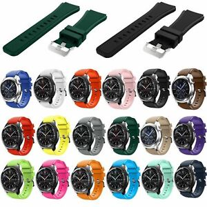 For Samsung Galaxy Watch 46mm 3 45mm Gear S3 Silicone Sport Strap Band & Charger