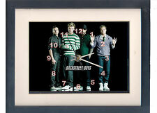Backstreet Boys. Celebrity framed print and clock. Music memorabilia.