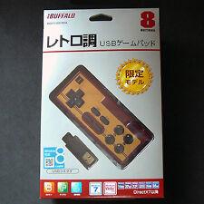 New Buffalo NES Famicom FC Turbo Rapid Fire Gamepad Controller for PC Mac USB