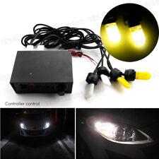 4 HID Xenon Strobe lights Flashing Amber Yellow Car Emergency Warn Lamps Kit