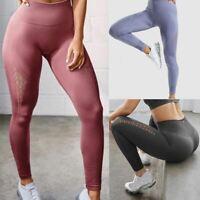 Été Complet Longueur Solide Yoga Pantalon Femme Taille Haute Gym Shark Runni