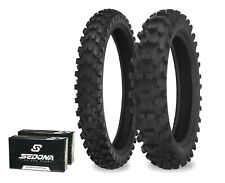 540 Series 110/100-18 80/100-21 Dirt Tire Kit w/ Tubes