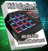405.200 Midi Collection Almost All Music Genres ABLETON MPC FL STUDIO LOGIC PRO