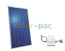 Solarmodul für die Steckdose zur Stromerzeugung 270Wp | Mini Photovoltaikanlage