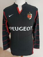 Rugby Maillot Stade Toulousain Toulouse 2004 (L) Domicile Nike Coton Shirt