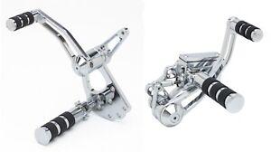 Chrome Forward Control Kit 1982-1994 Harley-Davidson FXR  - Made In The USA