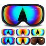 Men Women Ski Goggles UV400 Anti-Fog Ski Eyewear Winter Sports Snowboard Glasses