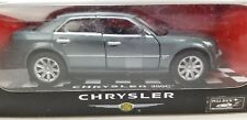NEW CHRYSLER 300C SILVER GREY DIECAST 1:34 NEW RAY MODEL TOY CAR REPLICA