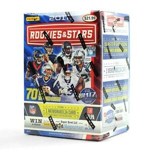 NFL FOOTBALL CARDS BOX: 2017 Panini Rookies & Stars Football box MAHOMES RC AUTO