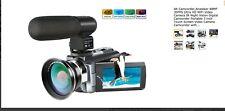 4K Camcorder,Ansteker 48MP 30FPS Ultra HD WiFi Video Camera IR Night Vision
