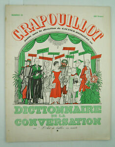 LE CRAPOUILLOT - N° 32 - Dictionnaire de la conversation - [sans date] - TBE